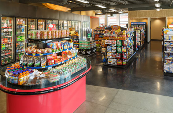 Inside the store on Yelm Highway